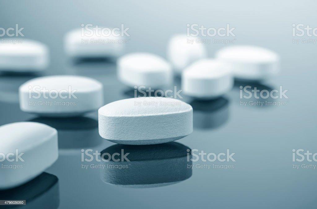 Nahaufnahme der Medizin Tabletten - Lizenzfrei 2015 Stock-Foto