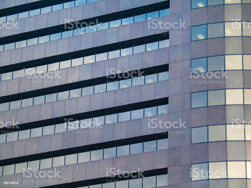 Closeup of modern office building - background zbiór zdjęć royalty-free