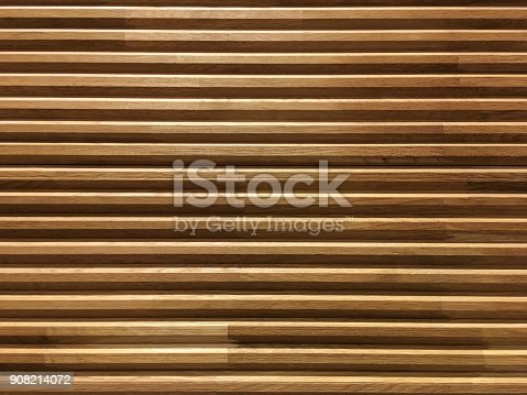 Horizontal pine wooden