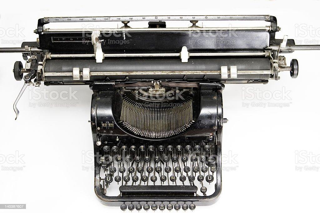 Nahaufnahme des alten Schreibmaschine – Foto
