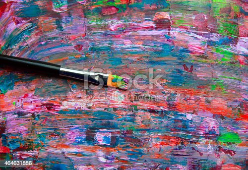 istock Closeup of palette. 464631886