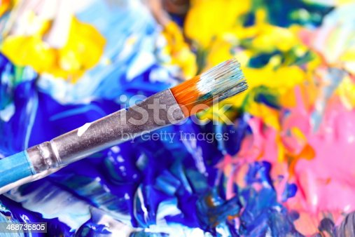 istock Closeup of palette. 468735805