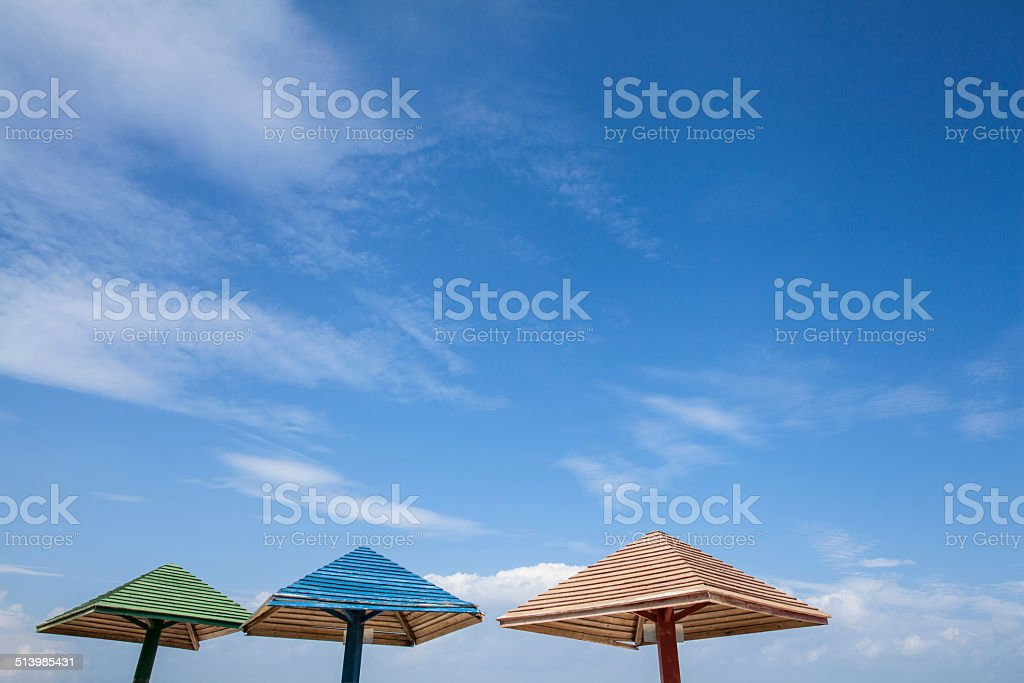 Close-up of Parasol stock photo