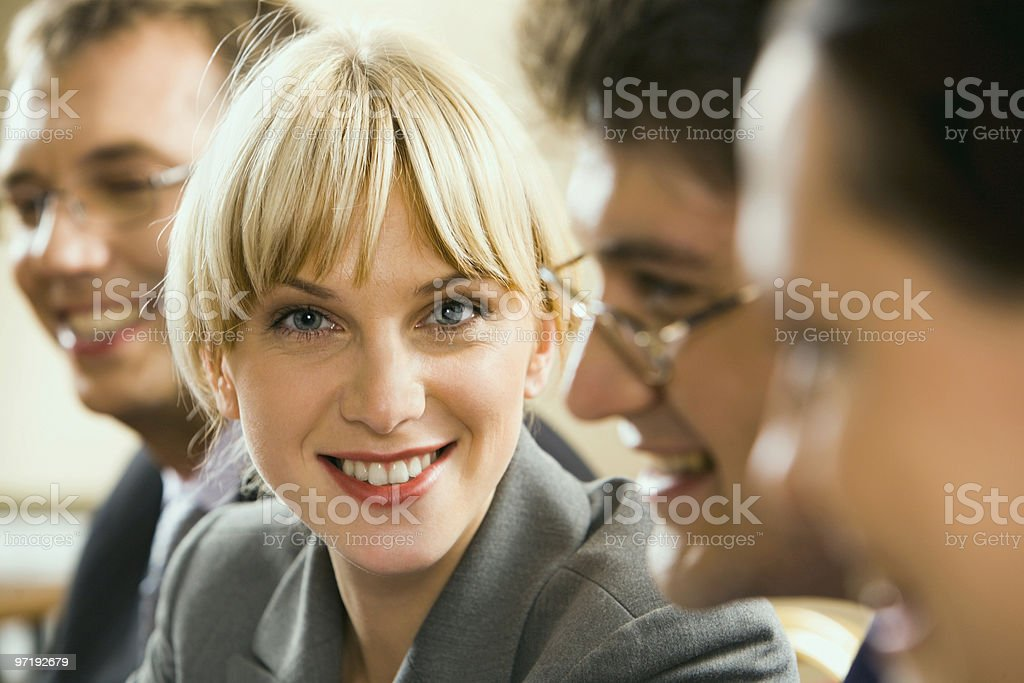 Close-up of partner royalty-free stock photo