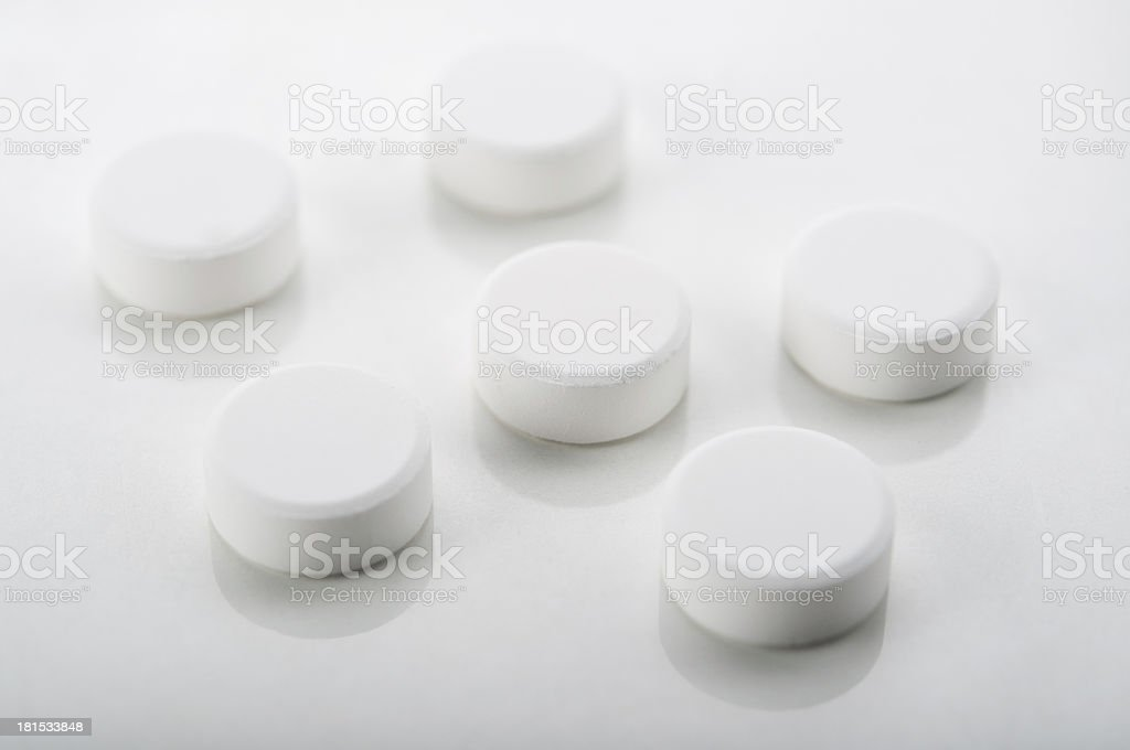 closeup of pills royalty-free stock photo