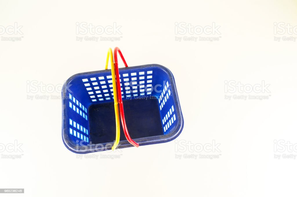 Close-up of plastic basket royalty-free stock photo