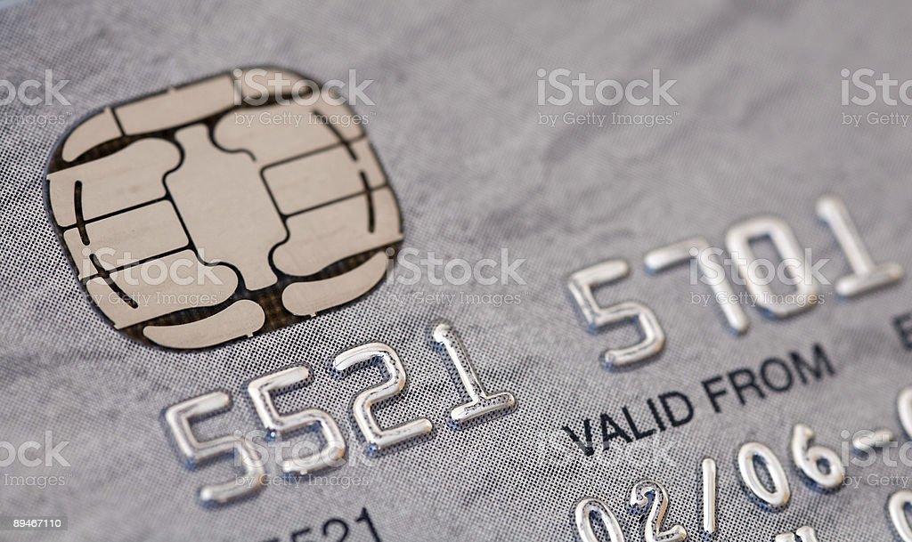 Close-up of Platinum Credit Card stock photo