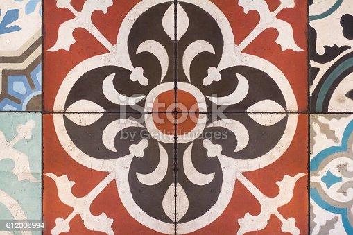 istock closeup of portugal azulejo tile 612008994