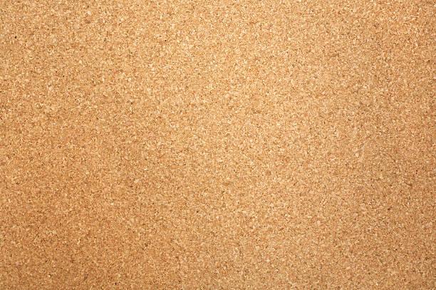 Close-up of rectangular corkboard texture stock photo