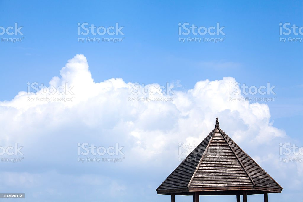 Close-up of Roof stock photo