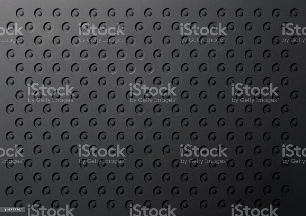 Closeup of rubber mat texture royalty-free stock photo