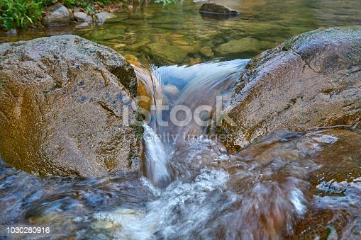 876018792 istock photo Close-up of Running Water and Rock 1030280916