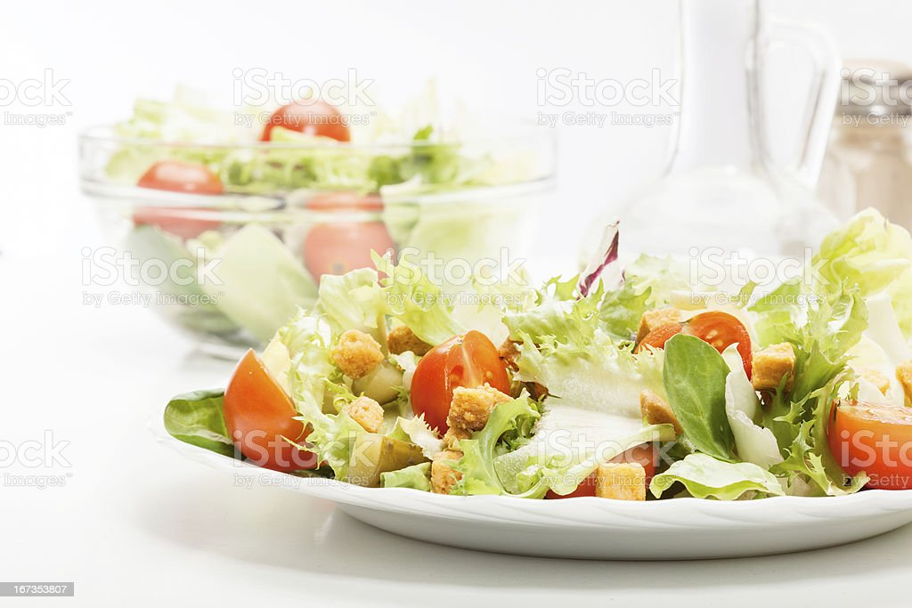 Close-up of salad royalty-free stock photo