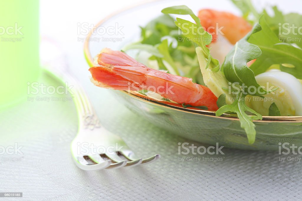 closeup of salad royalty-free stock photo