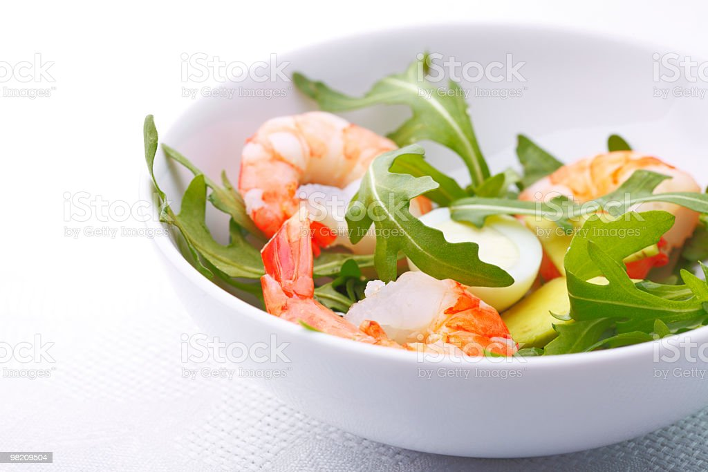closeup of salad royalty-free stock photo