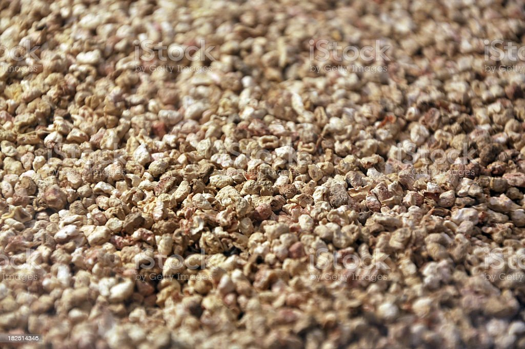 Close-Up of Sand Background stock photo