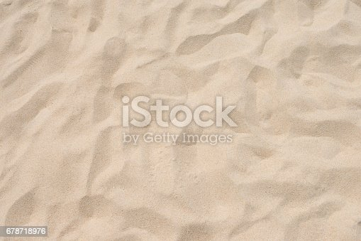 678719470 istock photo closeup of sand pattern of a beach in the summer 678718976