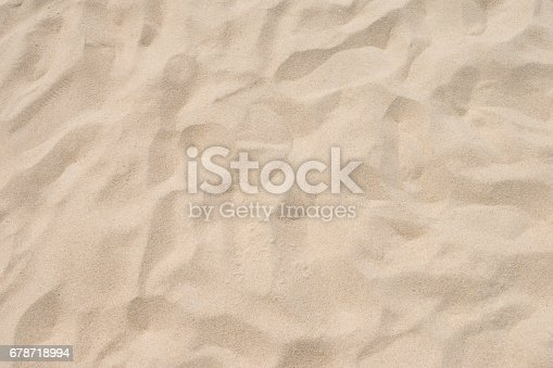 678719470 istock photo closeup of sand pattern of a beach in the summer 678718994
