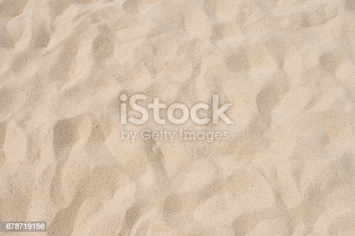 678719470 istock photo closeup of sand pattern of a beach in the summer 678719156