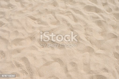 678719470 istock photo closeup of sand pattern of a beach in the summer 678719292