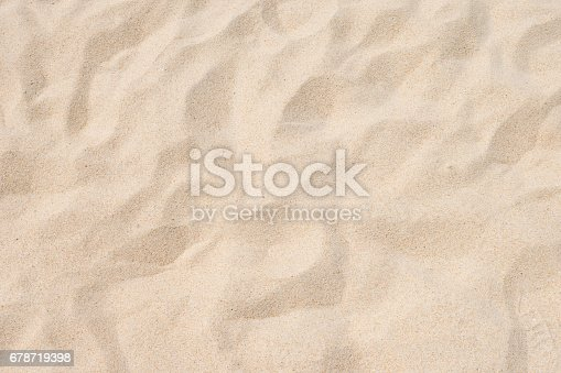 678719470 istock photo closeup of sand pattern of a beach in the summer 678719398
