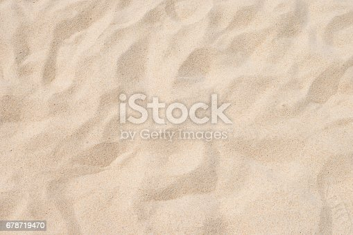 istock closeup of sand pattern of a beach in the summer 678719470