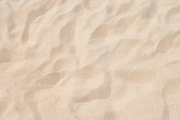 zbliżenie piasku na plaży w lecie - piasek zdjęcia i obrazy z banku zdjęć
