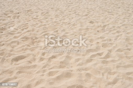 678719470 istock photo closeup of sand pattern of a beach in the summer 678719632