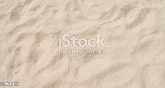 678719470 istock photo closeup of sand pattern of a beach in the summer 678719812