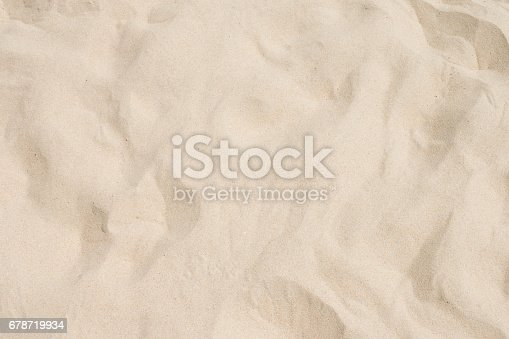 678719470 istock photo closeup of sand pattern of a beach in the summer 678719934
