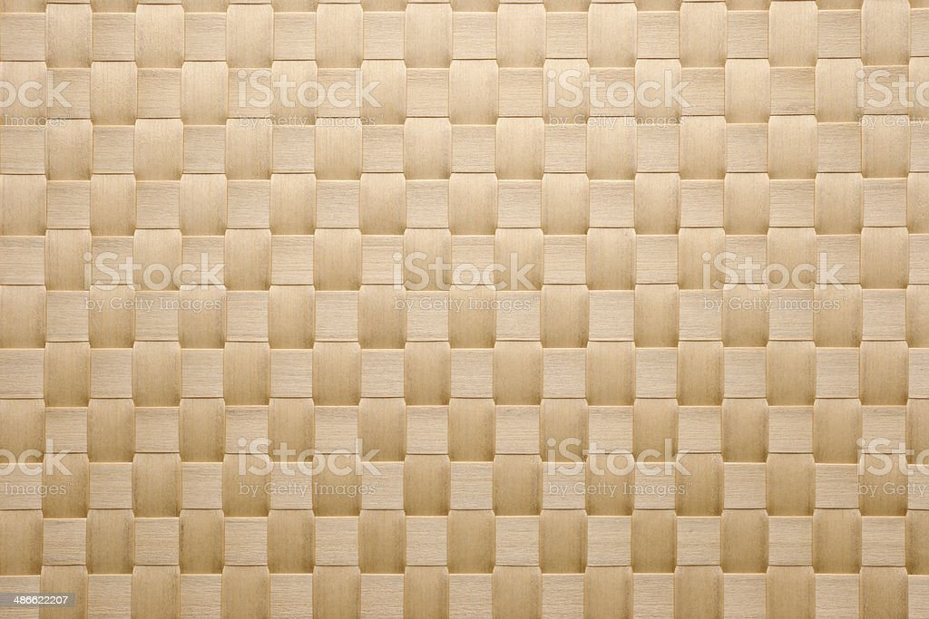 Close-up of seamless wicker pattern texture background stock photo