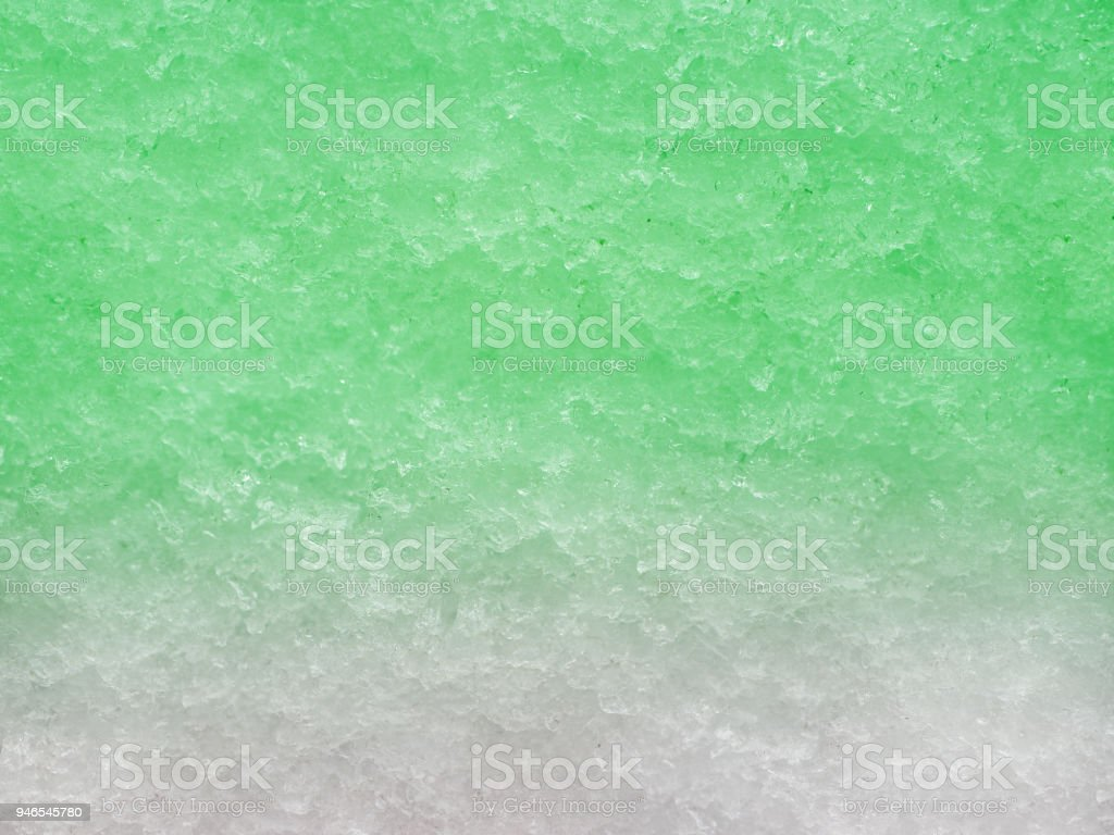 Close-up of shaved ice stock photo