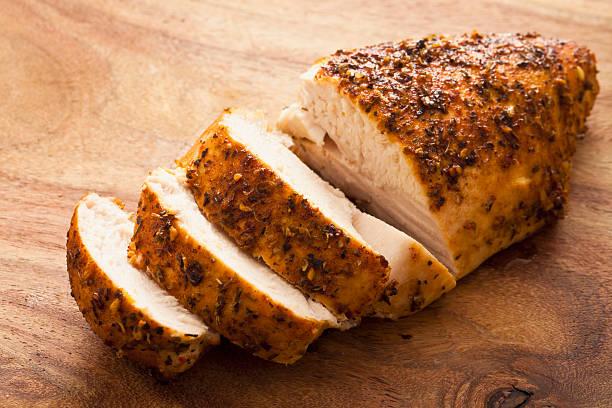 Gegrillte Hühnerbrust – Foto