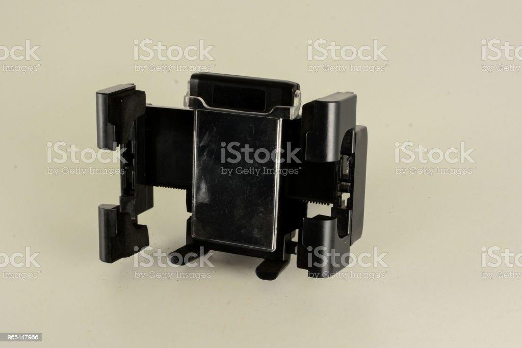 Nahaufnahme von Smartphone-Halterung - Lizenzfrei Alt Stock-Foto