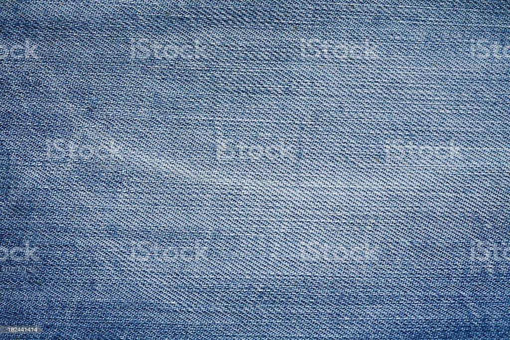 Close-up of some light denim cloth royalty-free stock photo