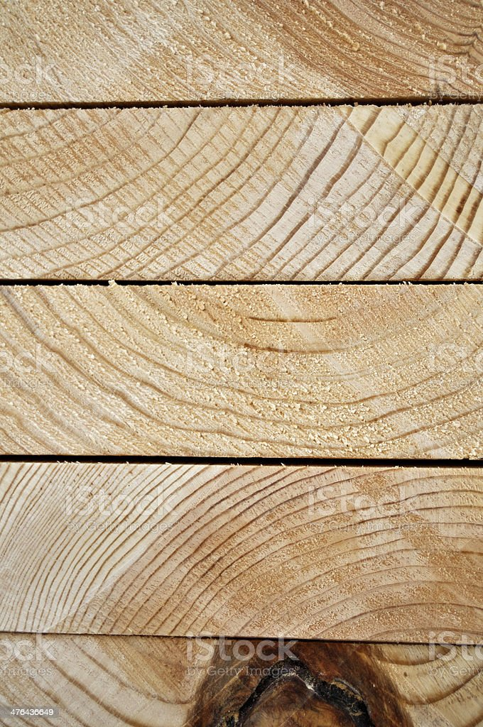 Close-up of Stacked Lumber stock photo