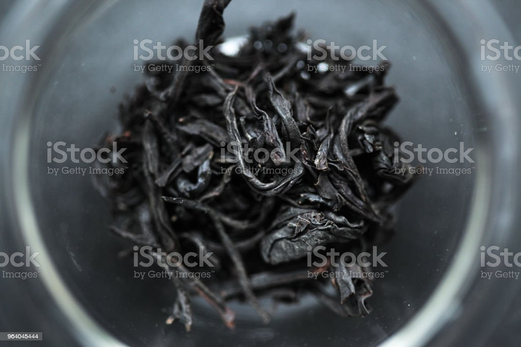 Close-up of Taiwanese black tea leaves - Royalty-free Close-up Stock Photo