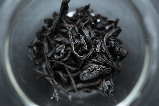 Closeup Of Taiwanese Black Tea Leaves Stock Photo - Download Image Now