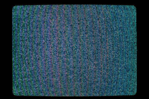 televisão estática - televisão estática imagens e fotografias de stock