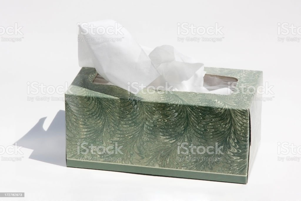 close-up of tissue paper royalty-free stock photo