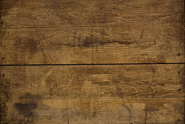 close-up of two wooden boards as seen from above - woodcut stock photos and pictures
