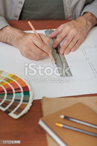 Drawing apartment plan