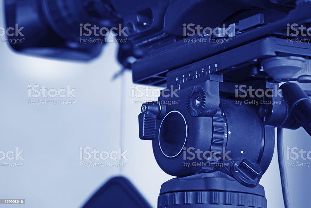 클로즈업 비디오 카메라 royalty-free 스톡 사진