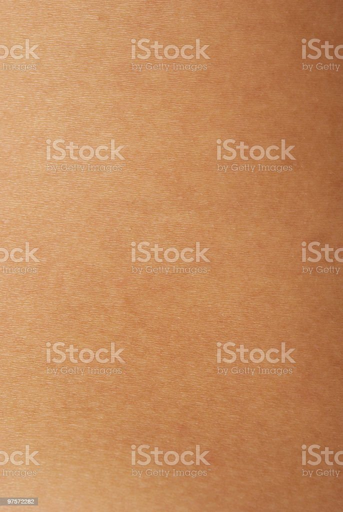 Close-up of white human skin with no imperfections royalty-free stock photo