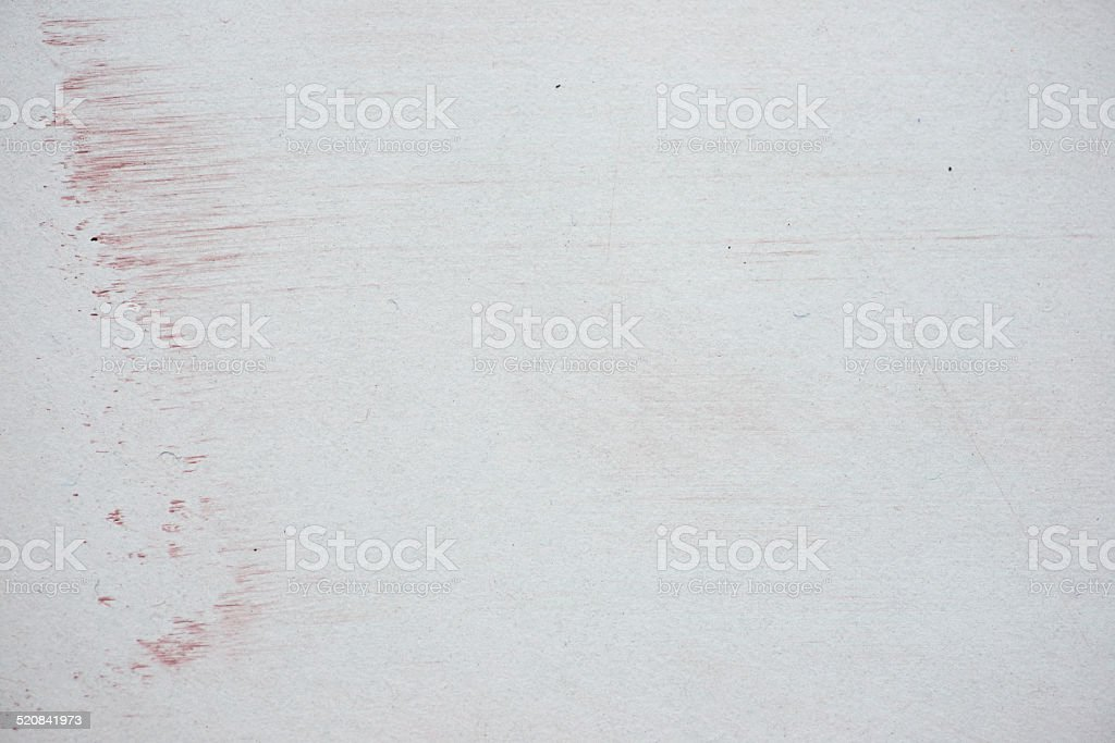 Closeup of whiteboard with leftover from erased content stock photo