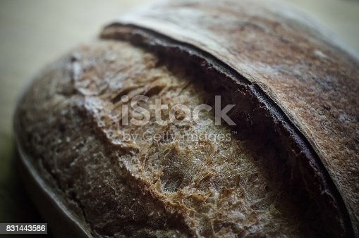 913749618istockphoto Close-up of whole wheat crusty artisan bread 831443586