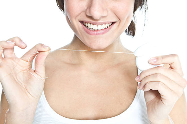 Dental Floss Human Teeth Teenager Brushing Pictures Images And Stock Photos