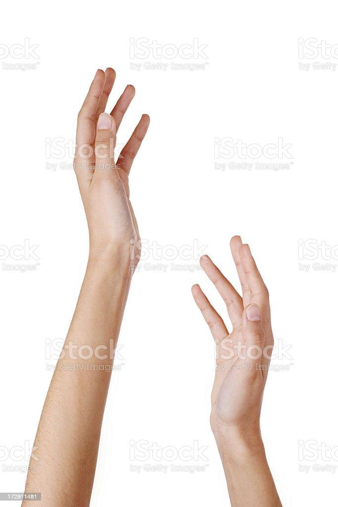 Nahaufnahme der Frau die Hände – Foto