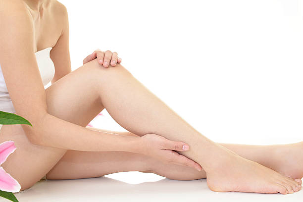 Close-up of Woman's Legs stock photo