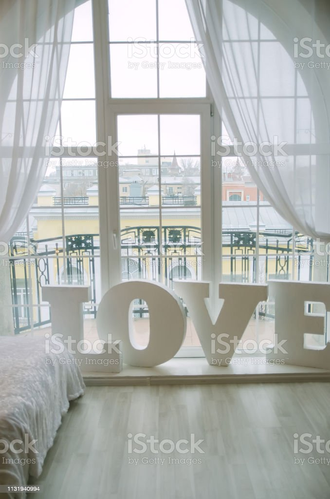 Closeup Of Word Love Used For Home Decoration In Living Room ...